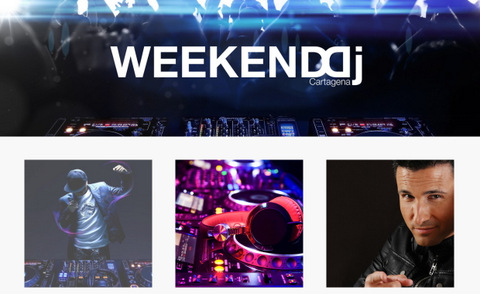 <span style='color:#780948'>ARCHIVED</span> - 24th and 25th April, Weekend DJ Festival in Cartagena