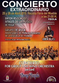 <span style='color:#780948'>ARCHIVED</span> - 25th and 26th April, Deep Purple orchestral concert in Yecla