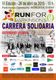 26th April, run in support of Parkinson's sufferers in the centre of Murcia