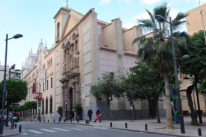 Iglesia de la Merced, a historic church in the centre of Murcia