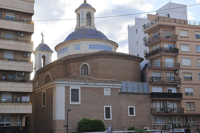 Iglesia de San Lorenzo in the city of Murcia