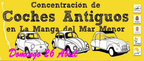 <span style='color:#780948'>ARCHIVED</span> - 26th April classic cars at La Manga