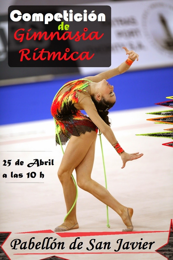 <span style='color:#780948'>ARCHIVED</span> - 26th April, gymnastics competition in San Javier