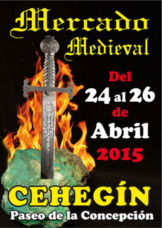 <span style='color:#780948'>ARCHIVED</span> - 24th to 26th April, medieval arts and crafts market in Cehegín