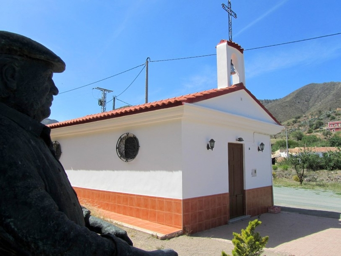 Cuesta de Gos in Águilas, birthplace of actor Paco Rabal