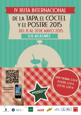 <span style='color:#780948'>ARCHIVED</span> - 8th to 31st May, Los Alcázares tapas, cocktail and dessert route