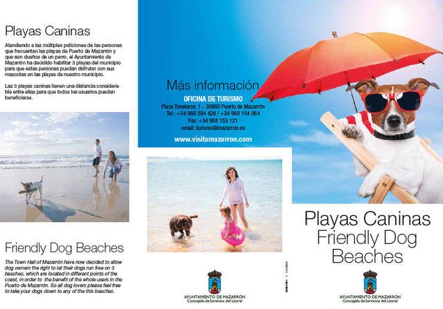 Dog-friendly beaches in Mazarrón