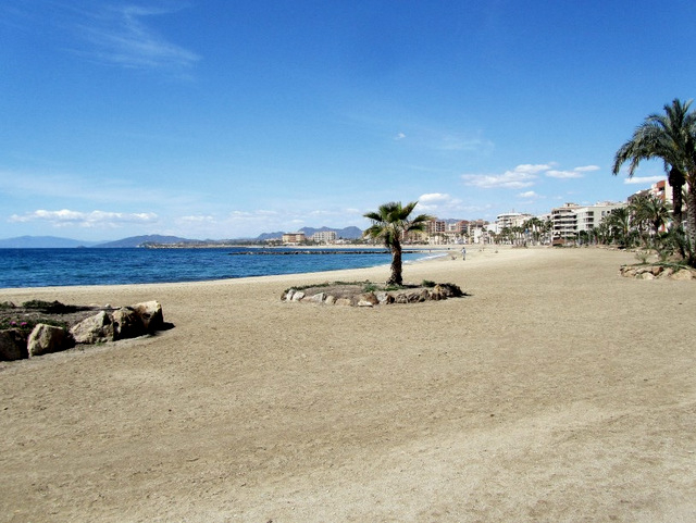 Águilas beaches: Playa de la Colonia