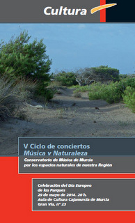 <span style='color:#780948'>ARCHIVED</span> - 29th May, Music and Nature concert at Cajamurcia in the city of Murcia