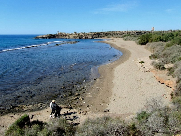 Águilas beaches: Playa Matalentisco, a Blue Flag beach with a dog-friendly area