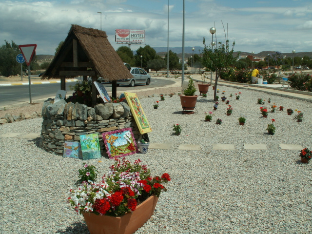 <span style='color:#780948'>ARCHIVED</span> - 30th May, well dressing ceremony, Parque Los Palacios, Camposol