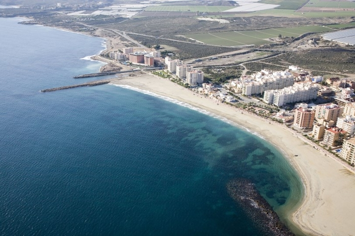 Águilas beaches: Playa de Poniente
