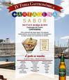 27th to 31st May, open-air gourmet tapas event in Cartagena