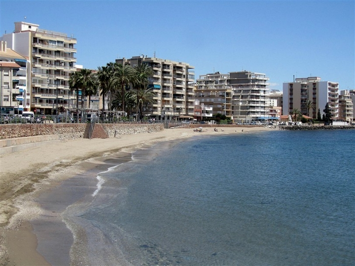 Águilas beaches: Playa de Levante