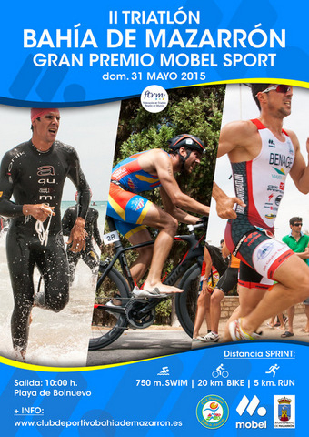 <span style='color:#780948'>ARCHIVED</span> - 31st May, Bahía de Mazarrón triathlon