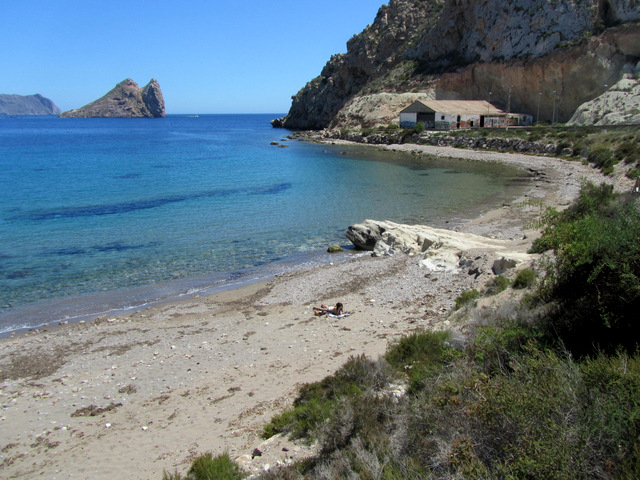 Águilas beaches: Playa de los Cocedores
