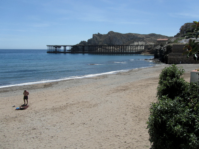 Águilas beaches: Playa del Hornillo