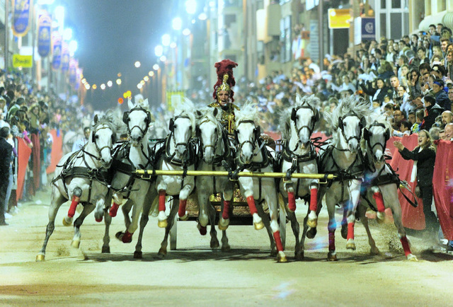 <span style='color:#780948'>ARCHIVED</span> - Semana Santa Lorca, The Lorca biblical parade Friday an astonishing extravaganza