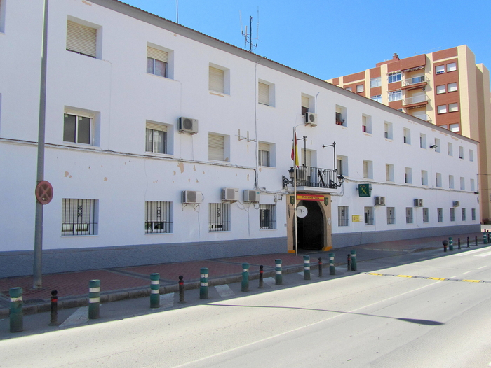 Local police station and Guardia Civil headquarters in Águilas