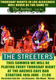 Every Thursday night the Streeters are live at the Arches Los Alcázares