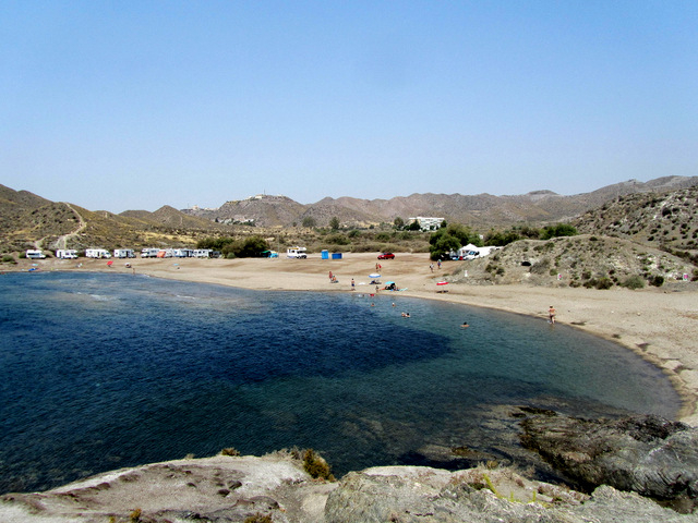 Águilas beaches: Playa del Arroz