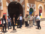 Murcia Mayor guides Chinese architects around Cuartel de Artillería in Murcia