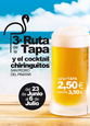 Until 6th July, beach bar tapas route in San Pedro del Pinatar