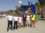 San Pedro del Pinatar hoists Q for Quality flags on its beaches