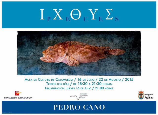 Peces by Pedro Cano in Águilas until 22nd August