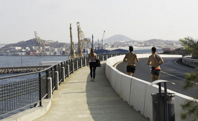 <span style='color:#780948'>ARCHIVED</span> - New pedestrian and cyclist path to Cala Cortina in Cartagena