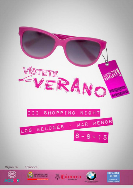 8th August Shopping Night in Los Belones