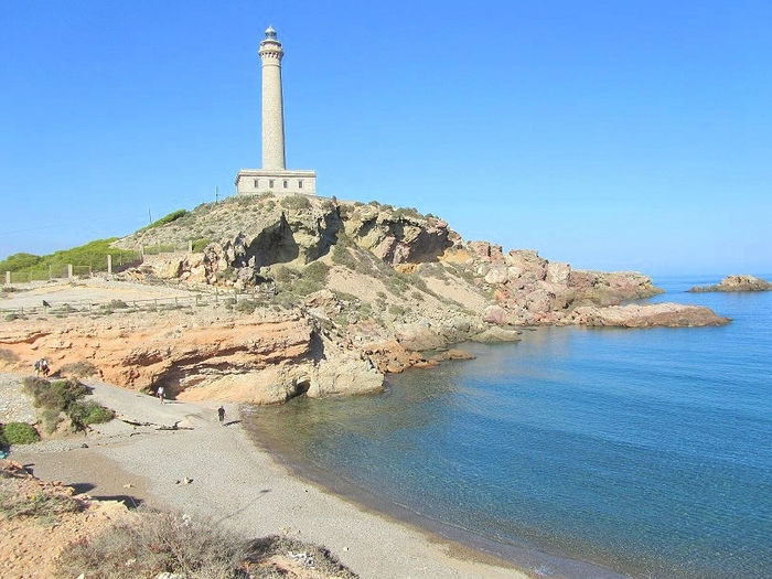 Overview of the beaches of Cabo de Palos