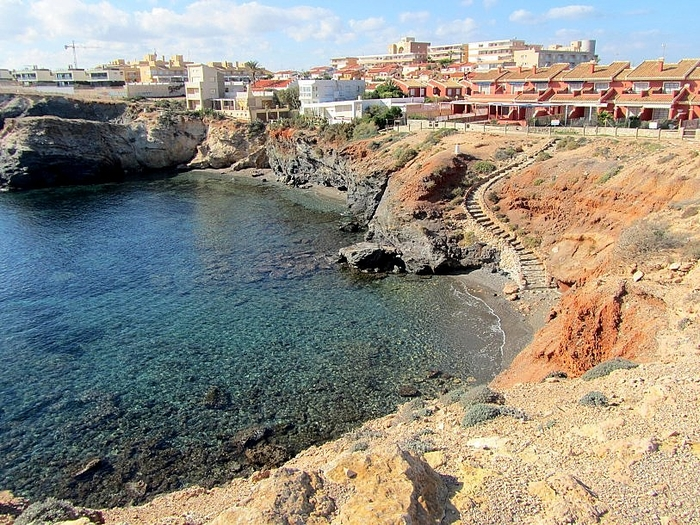 Cartagena beaches: Cala del Muerto in Cabo de Palos