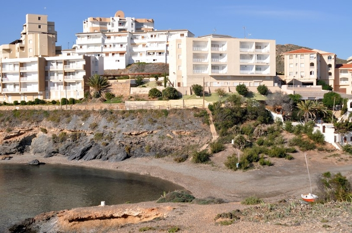 Cartagena beaches: Playa del Descargador in Cabo de Palos