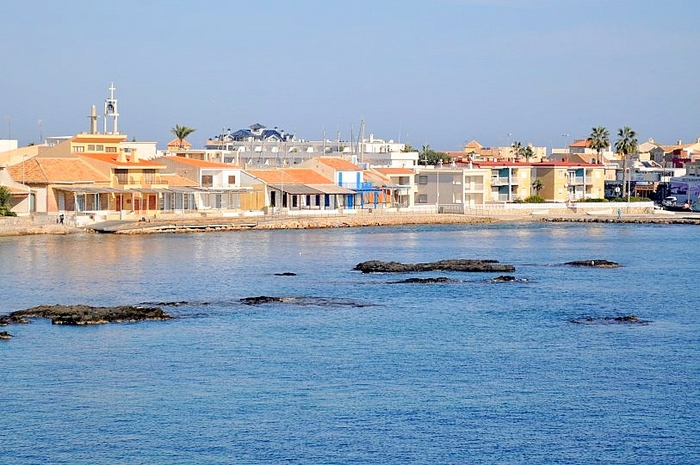 Cartagena beaches: Playa de la Barra, Cabo de Palos