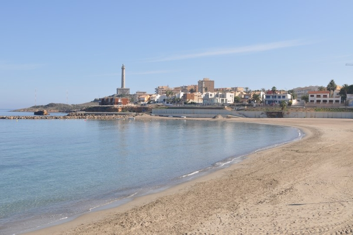 Cartagena beaches: Playa Levante (Cabo de Palos)