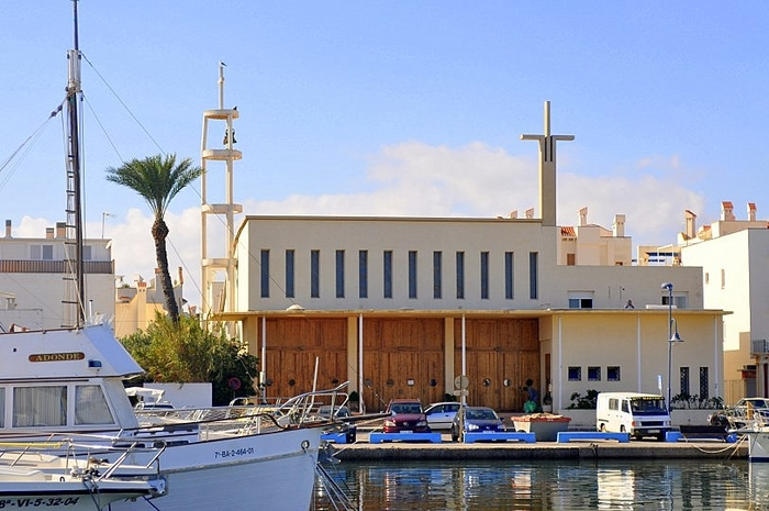 The church of Cabo de Palos