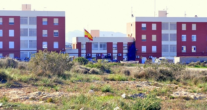 Policía Local and Guardia Civil in Cabo de Palos