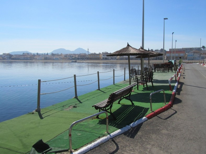 The marina of Los Nietos (Mar Menor)