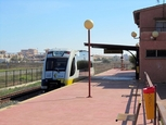 Train services Los Nietos - La Union - Cartagena
