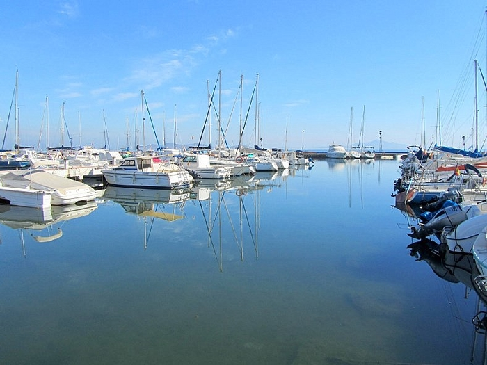The marina of Los Urrutias