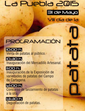 Potatoes and processions in the annual fiestas of La Puebla