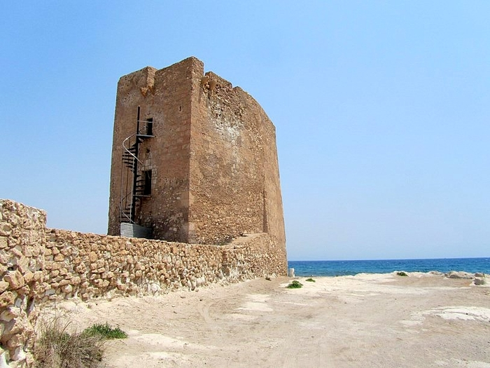 Torre de Cope, a 16th century watchtower in Águilas
