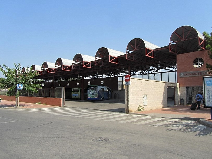 Railway and bus stations in Águilas
