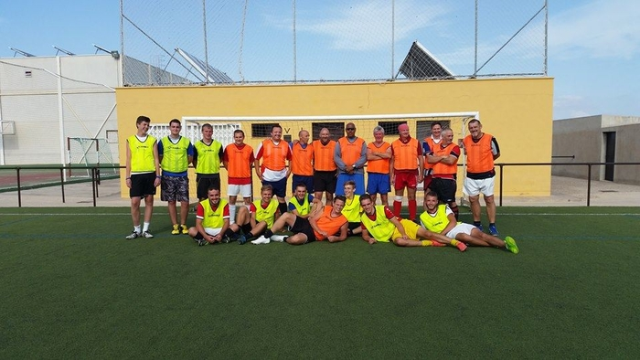Enthusiastic footballers of all ages welcomed in El Paretón Totana