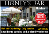 Honey's Bar Roldán English breakfasts Sunday lunch and friendly welcome