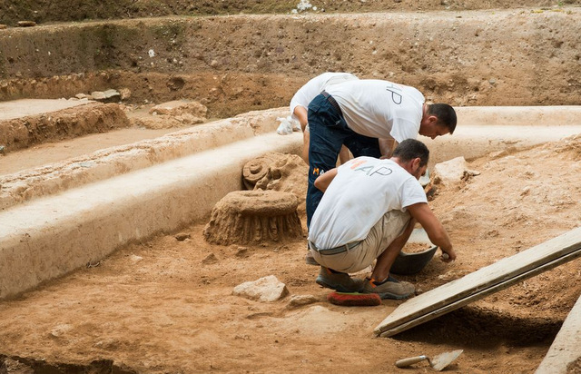 <span style='color:#780948'>ARCHIVED</span> - Archaeologists unearth more of the history of Cartagena