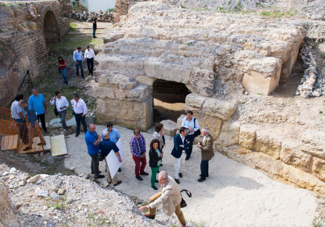 <span style='color:#780948'>ARCHIVED</span> - European financing sought for Roman amphitheatre excavation in Cartagena