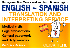 Veronica Acinas, translation services in and around Cartagena