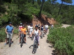 26th November downhill cycling with the Mariposa, Sierra Espuna